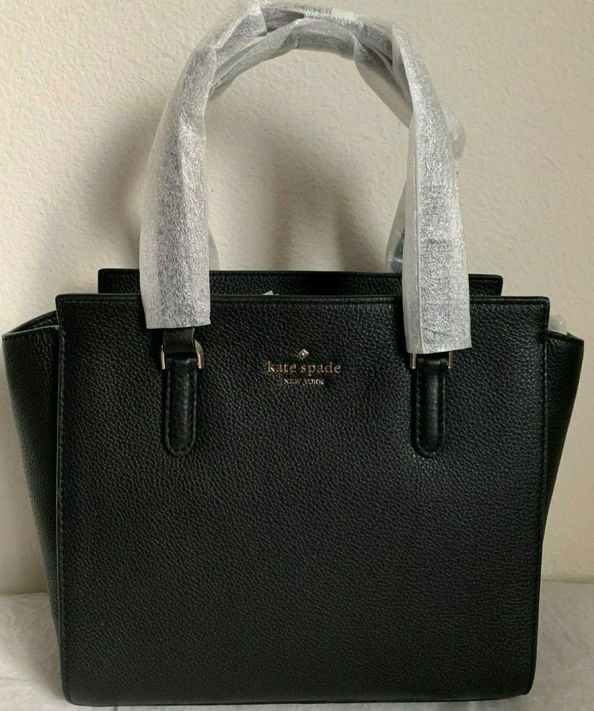 NWT Kate Spade Jackson Medium Leather Satchel Bag WKRU5940 $