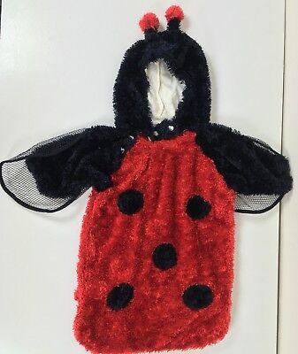 Lady Bug Infant Halloween Costume Hooded Plush Stroller Sack Size - Stroller Halloween Costume