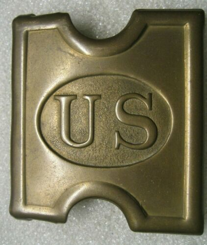 SPANISH-AMERICAN WAR US CARTRIDGE BELT BUCKLE