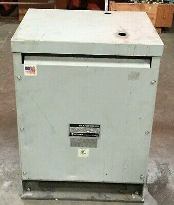 Hitran 20 Kva Transformer D3002042h6  Hv 460v Lv 230y133  3 Ph