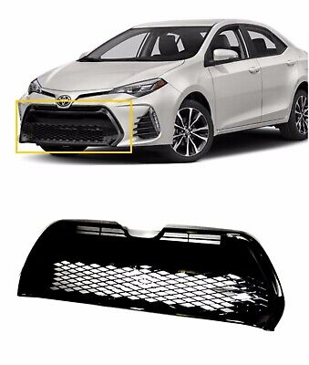 For 2017 2018 Toyota Corolla Front Bumper Lower Grille SE XSE Grill Replacement