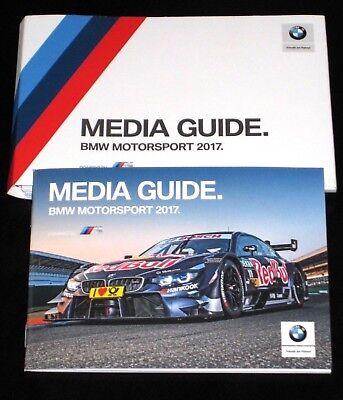 BMW 4er/M4 DTM+M6 GT3 2017 Pressemappe/Press Launch Media Info Kit/Buch/Book RAR