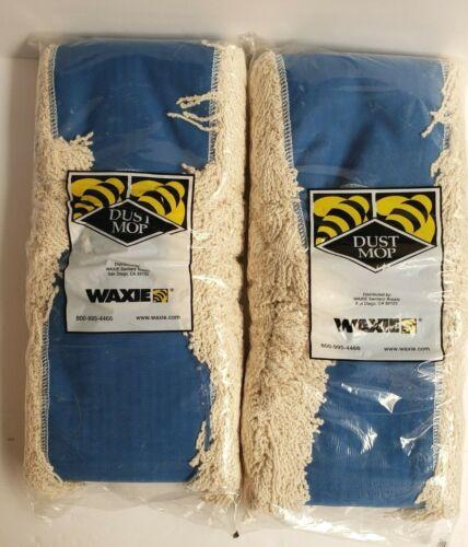 "650841 Waxie Dust Mop Big MO #548 Natural Cotton Yarn 5"" x 48"" NEW set of 2"