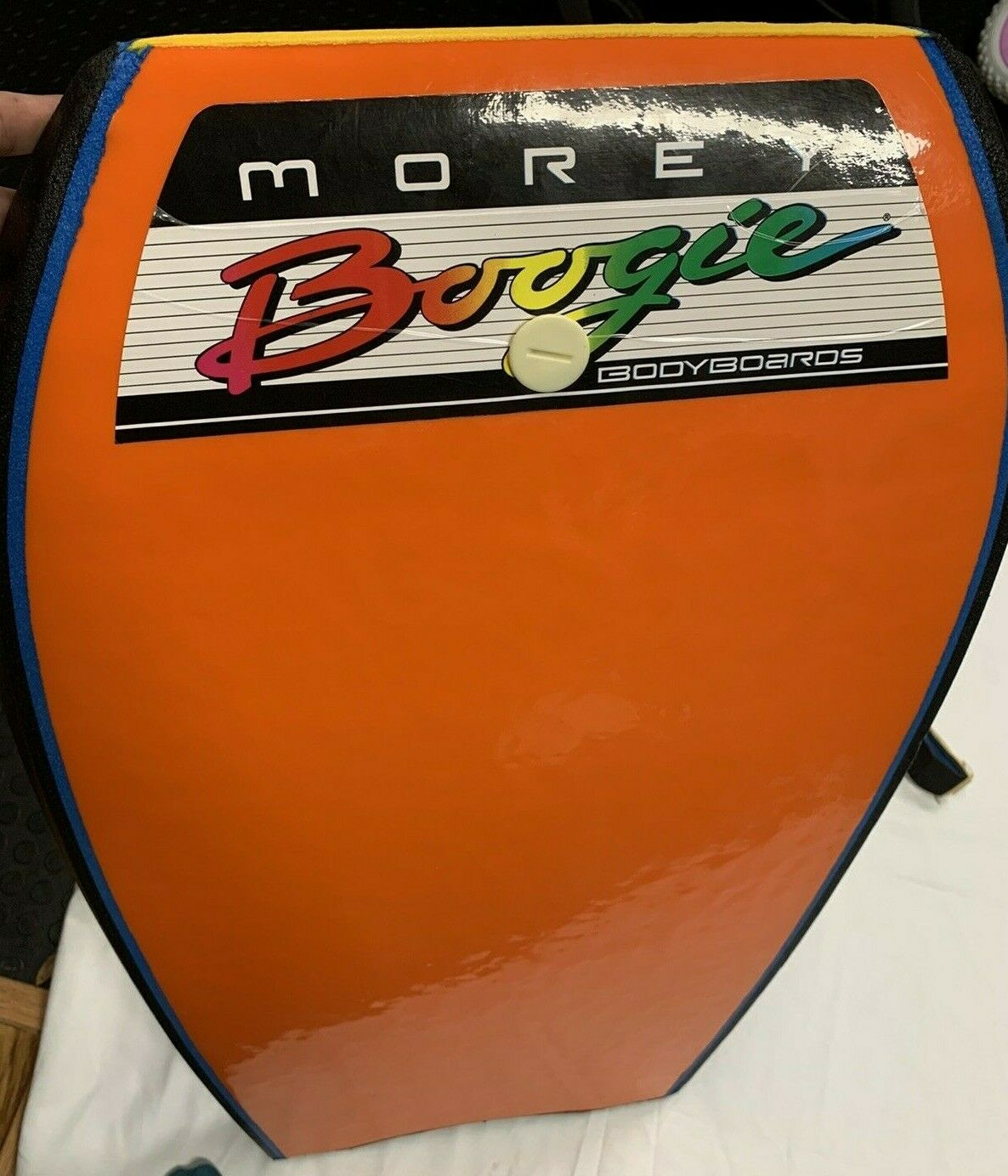 Vintage Morey Boogie Board Mach 7-SS Bodyboard Rare Turbo Le