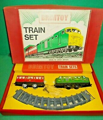 BRIMTOY O Gauge Clockwork B.R. DIESEL TRAIN SET C. 1960 Excellent in BOX Gauge 0 for sale  Shipping to Ireland