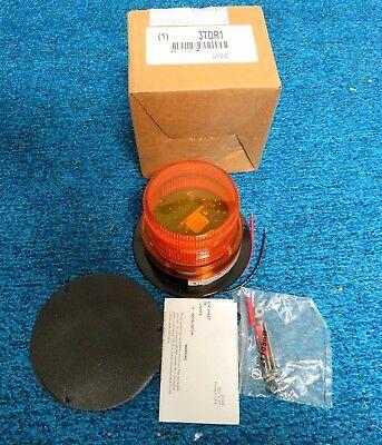 Federal Signal Target Tech Firebolt Fire Bolt Amber Strobe Warning Light 12-72 V