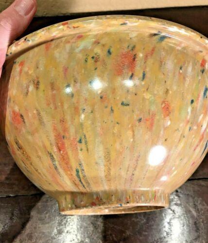"Vintage MCM Melamine TEXAS WARE Confetti Mixing Spatterware 10"" Kitchen Bowl"