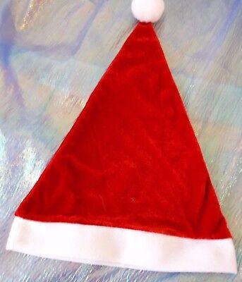 Weihnachtsmütze Velours Weihnachten Zipfelmütze Xmas 129206513