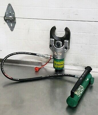 Greenlee 751-m2 Hydraulic Cable Wire Cutter W 767 Pump 2