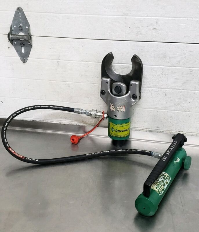 Greenlee 751-M2 Hydraulic Cable Wire Cutter W/ 767 Pump #2