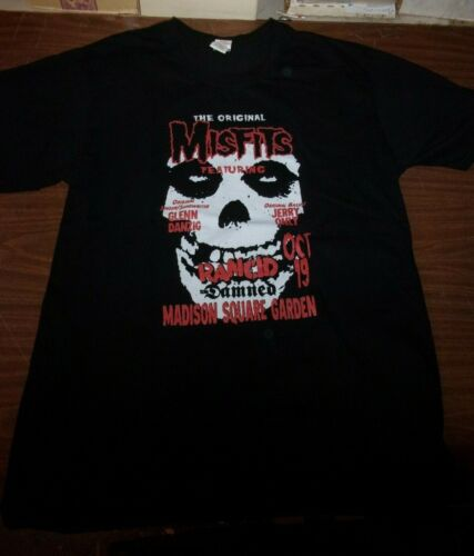 The Original Misfits Madison Square Garden Event T-Shirt Size Extra Large XL MSG