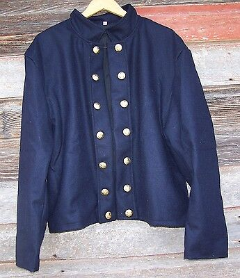 civil war union reenactor officers double breasted shell jacket 42  01
