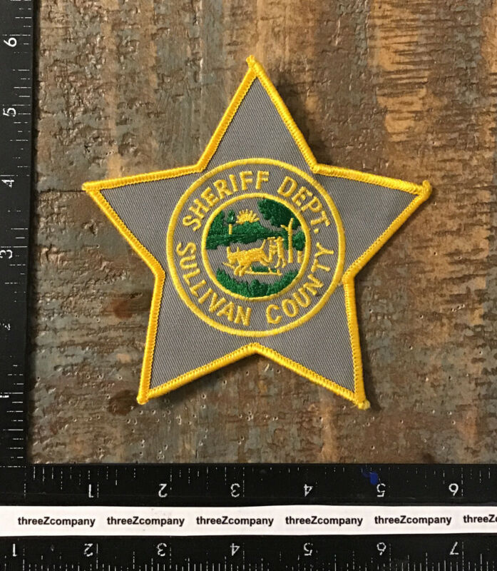 Vtg Sullivan County Sheriff Department New York Police Patch NY