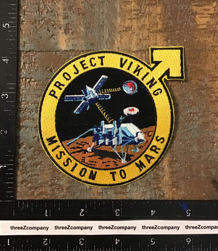 Project Viking Mission To Mars NASA Space Patch