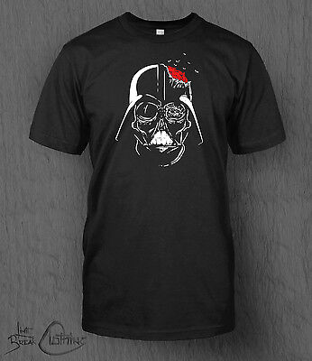 Star Wars T-Shirt Zombie Darth Vader MEN'S The Last Jedi Hano Solo Halloween Top (Halloween Wars Zombie)