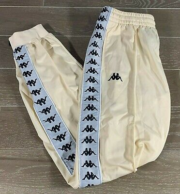 Brand New w. Tags KAPPA 222 BANDA Pants Size:Large Color:Beige/Grey Silver/Black