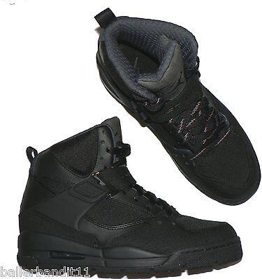 36d5a4d7b01ae4 Nike Air Jordan Flight 45 TRK boots shoes new mens black 467927 001 size 9  фото