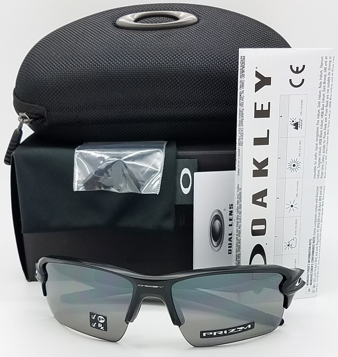 8930ee2d43 NEW Oakley sunglasses Flak 2.0 XL Matte Black