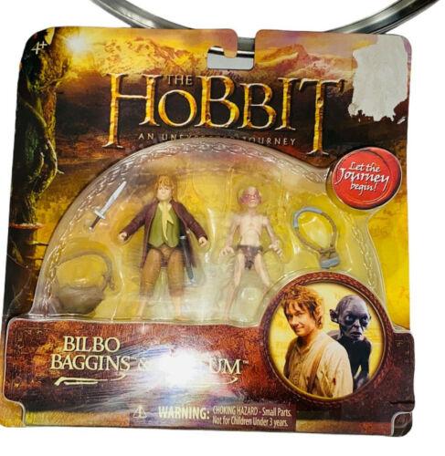 The Hobbit An Unexpected Journey 2012 Bilbo Baggins & Gollum Action Figures