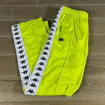 Brand New w. Tags KAPPA 222 BANDA Pants Size:Large Color:Green/Lime/White
