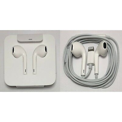 Apple Lightning EarPods Earbuds Headset Original For iPhone X XS Max XR 8 7 Plus