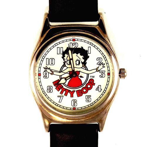 Betty Boop Fossil #LI-1351 Unworn Easy Read Lady Watch HTF # XXX/10,000 Only $60