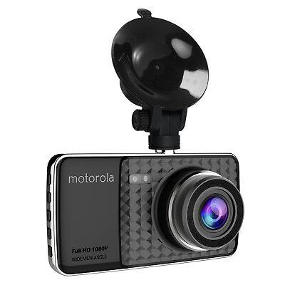 MOTOROLA Full HD 1080p Dash Cam MDC400 with 4 Inch LCD Display (B 7236372 DCM)