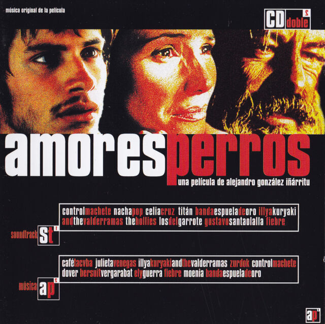 AMORES PERROS - 2 CD - ORIGINAL SOUNDTRACK