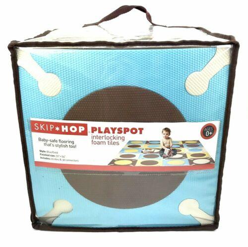 "SKIP HOP Foam Floor Tiles Playspot Interlocking Multi Color 72""×54"" NIB"