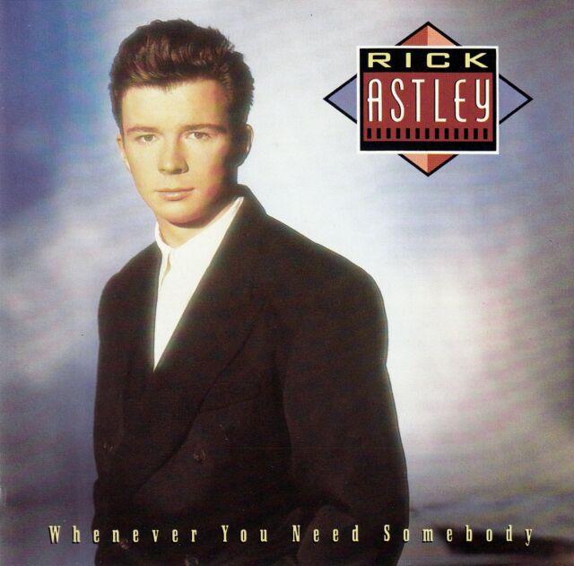 RICK ASTLEY / WHENEVER YOU NEED SOMEBODY / CD (PWL RECORDS ND 75150) - NEUWERTIG