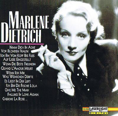 Marlene Dietrich & Fr. Holländer Jazzsymphoniker CD Laserlight 1992 New & Boxed
