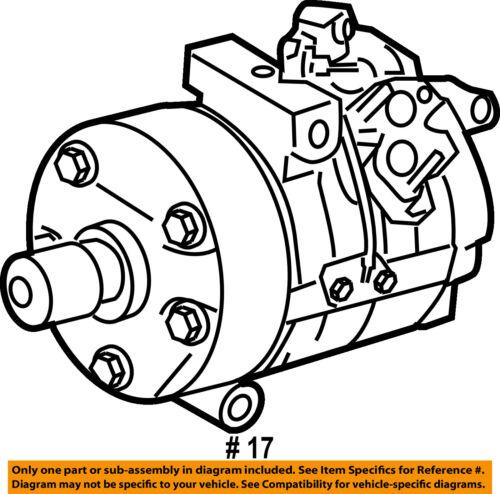 Toyota Oem Ac Ac Compressor 883206a11184