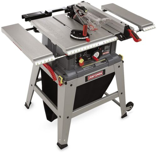 Craftsman Table Saw Laser Trac Precision Speed Clean Cut