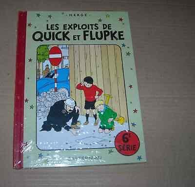 QUICK ET FLUPKE SERIE 6 SOUS CELLO RE Hergé ( AUTEUR TINTIN)