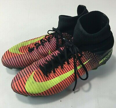 USED NIKE MERCURIAL SUPERFLY V FG ACC SOCCER CLEATS [831940-870] MEN'S SZ.11