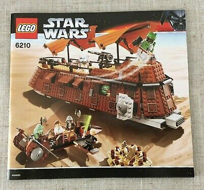 LEGO Star Wars 6210 Jabba's Sail Barge *Instructions/Manual Only* (New)