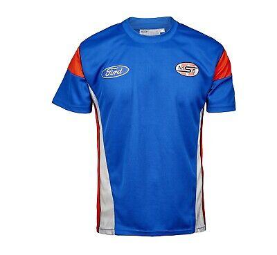 T-Shirt Adult Rally X Cross Team OMSE Olsberg Ford NEW! MF2790 Blue