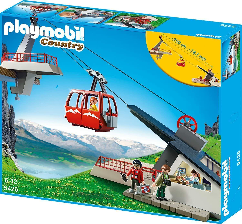 Playmobil 6979 Seilbahn mit Bergstation (neu OVP)