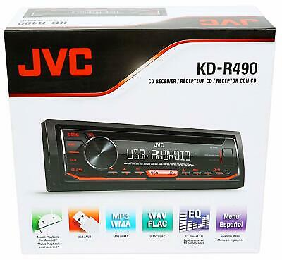 Jvc KD-R460 In-dash CD/MP3/WMA Receiver