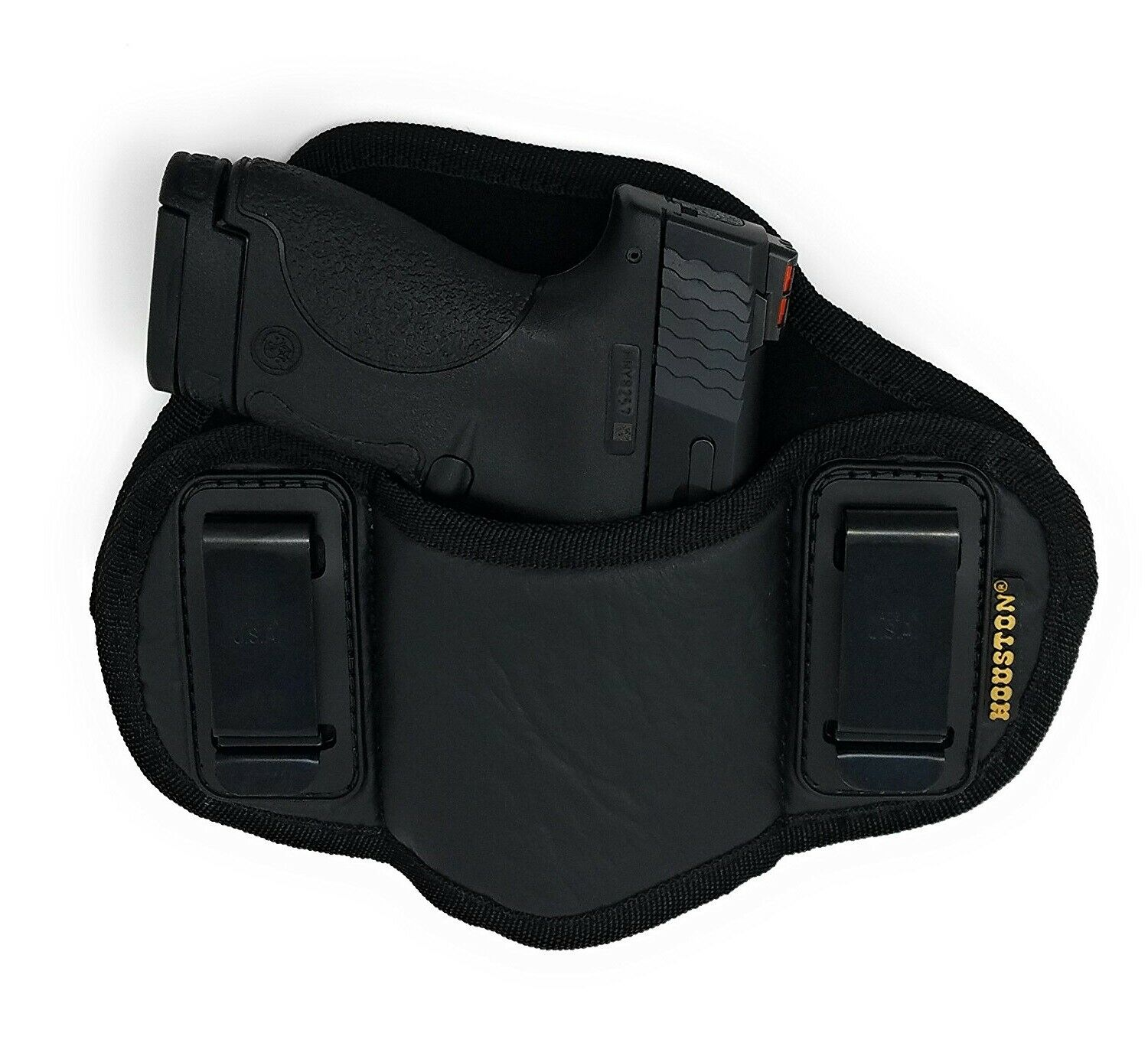 Tactical Pancake Concealed Carry IWB Gun Holster Houston Leather - Choose Model