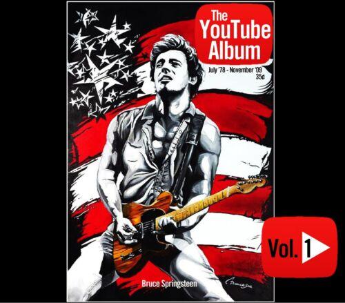 Bruce Springsteen The YouTube Album Vol 1 3-CD Rising Badlands U2 Western Stars