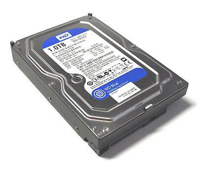 """1TB Western Digital Blue HDD BJ: 2014, Modell WD10EZEX 64MB 3.5"""" SATA Festplatte"""
