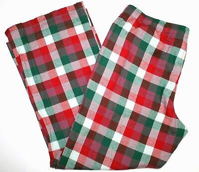 Gilligan O'Malley Pajama Sleepwear Flannel Pants Bottoms Christmas Colors -