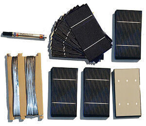 72 A grade 3x6 solar cell kit for DIY solar panel