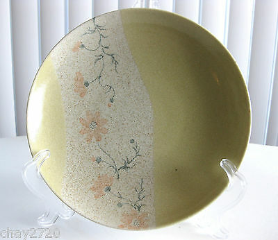 VINTAGE FLORAL YELLOW SAGE JAPANESE PLATE - Made in Japan