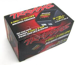 Traxxas LIPO BALANCE CHARGER Power cell 2-cell 3-cell TRA2935 #6808 slash e-revo
