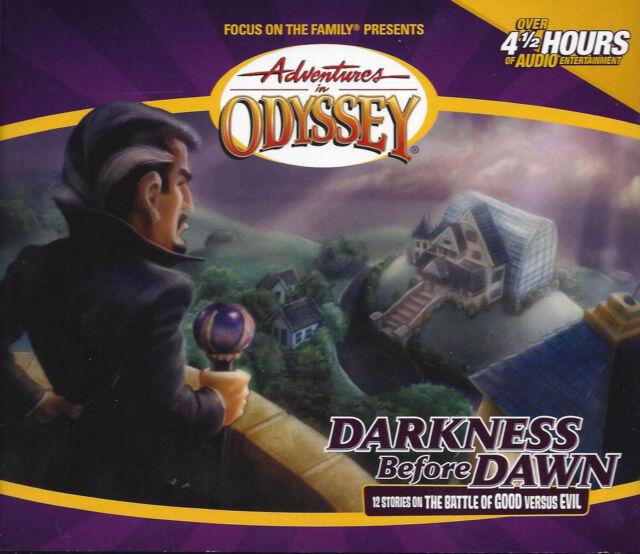 NEW Darkness Before Dawn #25 Adventures in Odyssey 4 Audio CD Vol Set Volume