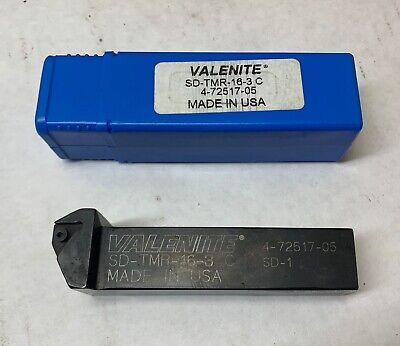 Valenite Indexable Tool Holder - Sd-tmr-16-3 C - 1x1x1 Shank - New In Box