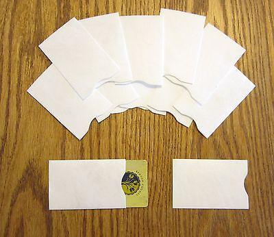 20 Tyvek Credit Debit Card Protector Holder Sleeve Envelopes Atm Id Gift Card
