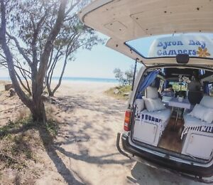 RENT Beach Shack Hiace high top 5 seater double bed camper van From$99 Tweed Heads Tweed Heads Area Preview